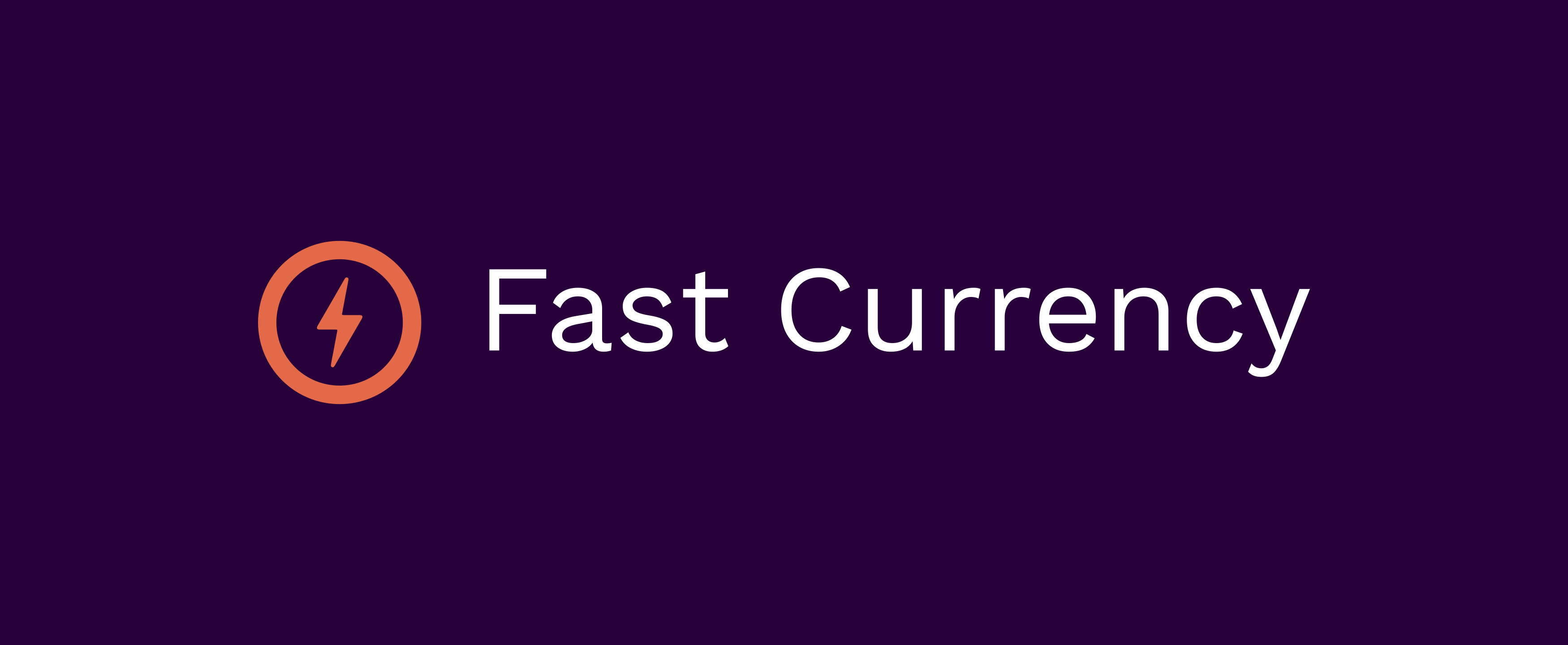 Fast Currency Trading